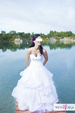 Bajkowa Suknia Ślubna ~~LA DIVA WOW ~~dla księżniczki