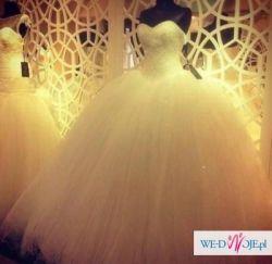 Bajkowa suknia ślubna Najpiękniejsza Princessa. Zjawiskowa księżniczka