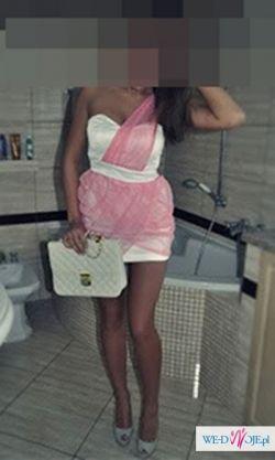 Bandażowa Sukienka na 1 RAMIĘ