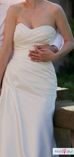 Bardzo kobieca suknia ślubna
