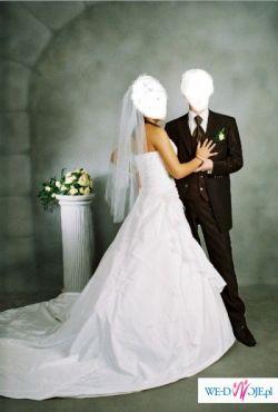 Bardzo ładna i elegancka suknia ślubna model TU KRYRUN
