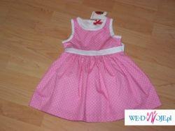 Bardzo ładna sukienka niemowlęca, NOWA z metką!