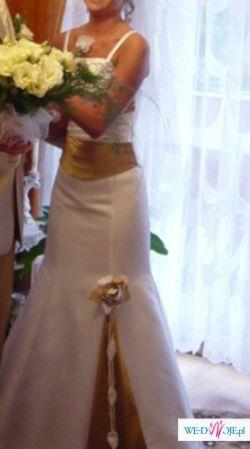 Bardzo ładna sukienka ślubna