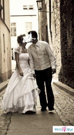 Bardzo ładna suknia ślubna. Okazja!