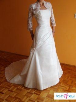 Bardzo piękna suknia ślubna.