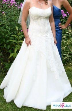 Bardzo piękną suknię ślubną sprzedam
