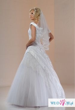 Bardzo pilnie sprzedam suknię ślubną z salonu SARAH + DODATKI