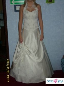 Bardzo tanio do sprzedania suknia ślubna!!!