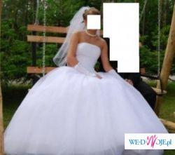 Bardzo TANIO!!! Piękna suknia Oryginalna Sincerity - Jak Księżniczka!
