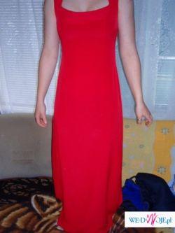 bardzo tanio sprzedam suknię wieczorowo-wizytową