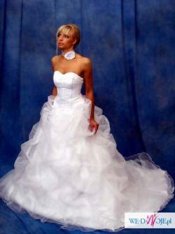 Baśniowa suknia ślubna