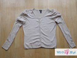 Beżowy sweterek H&M