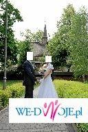 Biała, ślubna sukienka