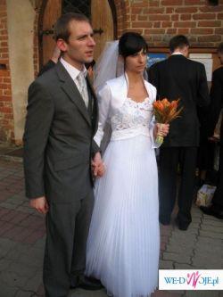 biała suknia Oktawia
