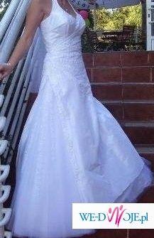 biała suknia ślubna 36/38 śląsk