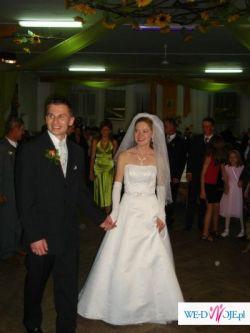 Biała suknia ślubna 36