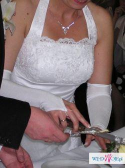 Biała suknia ślubna 38-40