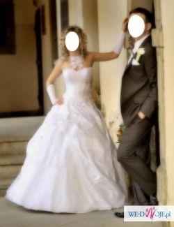 biała suknia ślubna(Emmi Mariage-Romance)rozm.36wzr.163-172cm