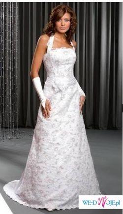 Biała suknia ślubna, firma Karina, kolekcja 2009 Sunrise, model Velvet (Kraków)