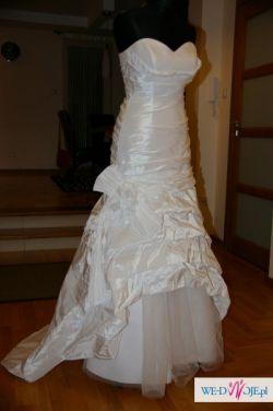 Biała suknia ślubna firmy Gala model Erin rozm. 38