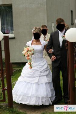 Biała suknia Ślubna Firmy KARINA.Śliczna