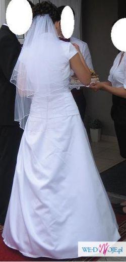 Biała suknia ślubna + gratisy
