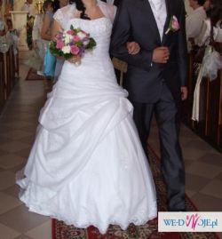 Biała suknia ślubna  Herm's (Ginette)