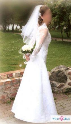 Biała suknia ślubna rozm 36