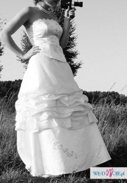 biała suknia slubna rozm. 40