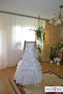 Biała suknia ślubna rozmiar 36