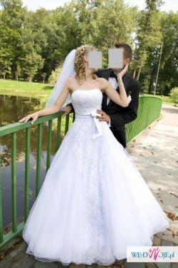 Biała suknia ślubna Shirvan (Angel)