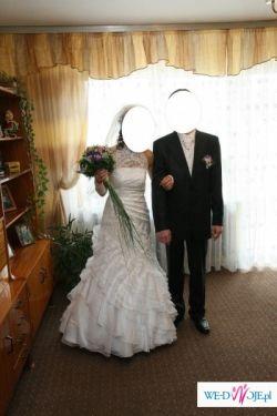 Biała suknia  ślubna Sposabela 602