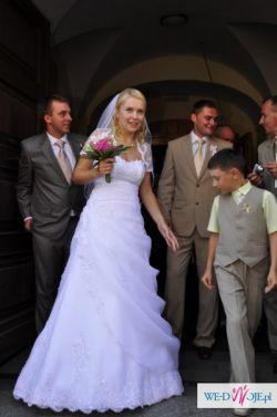 Biała suknia ślubna - SPRZEDAM