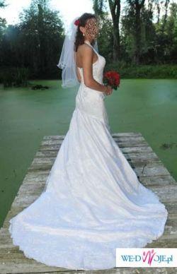 Biała suknia ślubna z kolekcji Annais Bridal