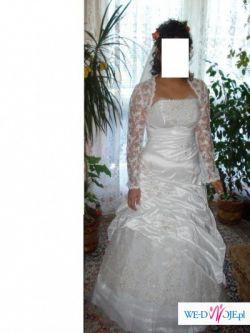 Biała suknia ślubna z września 2008
