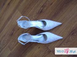 białe buty ślubne