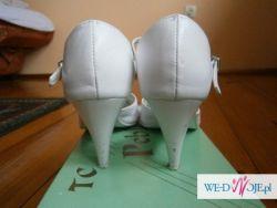 Białe buty ślubne - rozm. 36