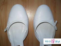 białe ślubne buty RYŁKO rozm 40
