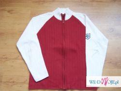 Biało-czerwony sweter , rozm.XL - OKAZJA !