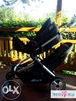bliżniacy wózek dziecięcy huck