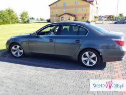 BMW E60 do ślubu Siedlce i okolice