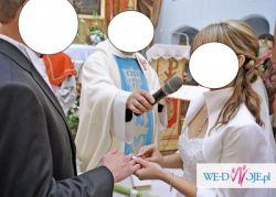 bolerko białe ślubne