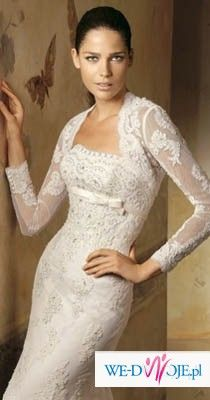 Bolerko do sukni Lorna z Kolekcji Pronovias