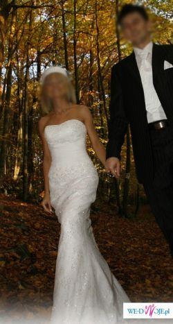 Boska Demetrios 1351 !! Suknia ślubna prosto z USA !!