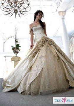 Boska włoska suknia szyta na miarę