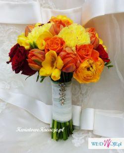 Bukiety ślubne, dekoracja sal i kościołów