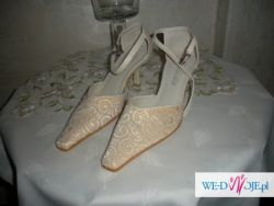 Buty firmy Klaudia, beżowe, rozmiar 35