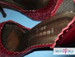 Buty nieużywane - okazały sie za małe - bordowe