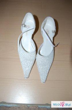 Buty ślubne 36 FIrmy Klaudia