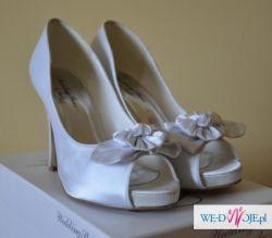 Buty ślubne białe 39
